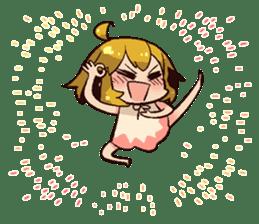 Aimaimi world Sticker sticker #7839136