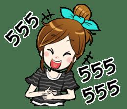I'm your girlfriend sticker #7839286