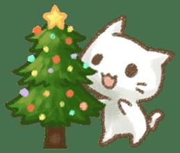 Christmas Cat sticker #7840655