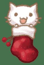 Christmas Cat sticker #7840658
