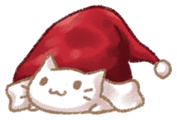 Christmas Cat sticker #7840659