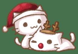 Christmas Cat sticker #7840661