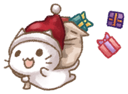 Christmas Cat sticker #7840663