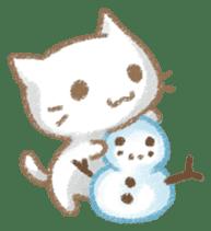 Christmas Cat sticker #7840665