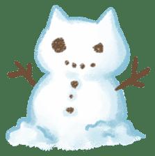 Christmas Cat sticker #7840666