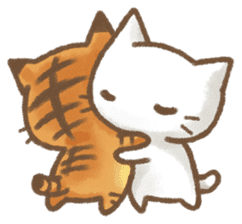 Christmas Cat sticker #7840668