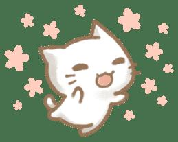 Christmas Cat sticker #7840672