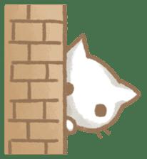 Christmas Cat sticker #7840674