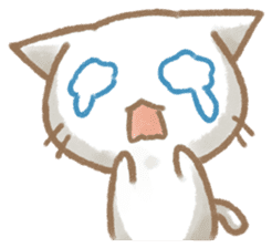 Christmas Cat sticker #7840684