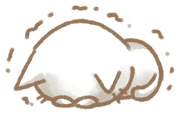 Christmas Cat sticker #7840686