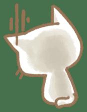Christmas Cat sticker #7840689