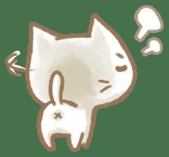Christmas Cat sticker #7840690