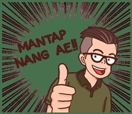 Banjar Galau sticker #7841898