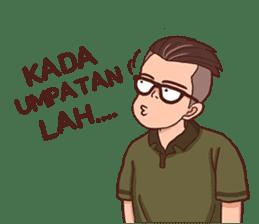 Banjar Galau sticker #7841901