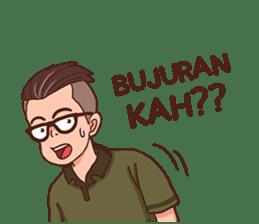 Banjar Galau sticker #7841903