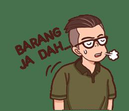 Banjar Galau sticker #7841904