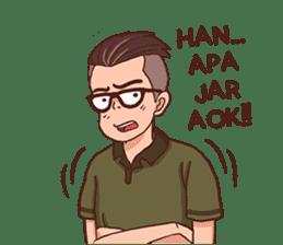 Banjar Galau sticker #7841905