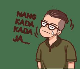 Banjar Galau sticker #7841906
