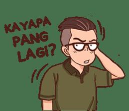 Banjar Galau sticker #7841907