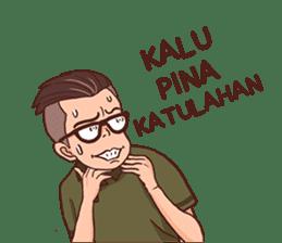 Banjar Galau sticker #7841913