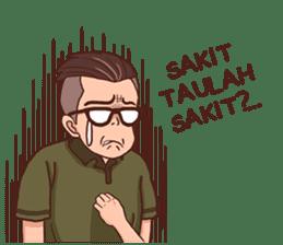 Banjar Galau sticker #7841914