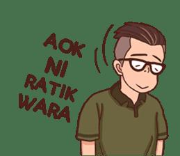 Banjar Galau sticker #7841918