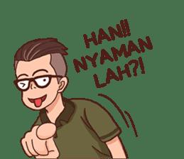 Banjar Galau sticker #7841920
