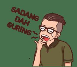 Banjar Galau sticker #7841924