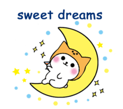 Cute cat of the hat (ENG.ver) sticker #7847901