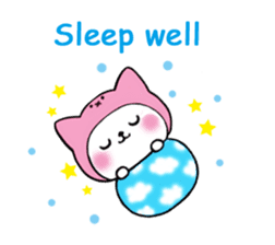 Cute cat of the hat (ENG.ver) sticker #7847903