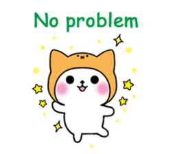 Cute cat of the hat (ENG.ver) sticker #7847908
