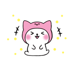 Cute cat of the hat (ENG.ver) sticker #7847912