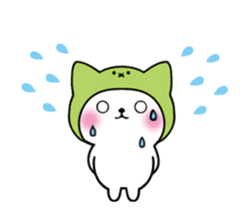 Cute cat of the hat (ENG.ver) sticker #7847913