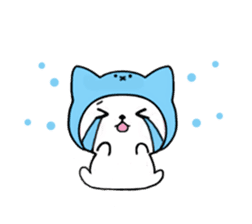 Cute cat of the hat (ENG.ver) sticker #7847914