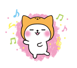 Cute cat of the hat (ENG.ver) sticker #7847919