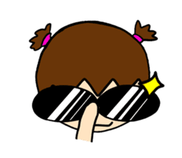 Point of View: The Glasses Girl sticker #7848831