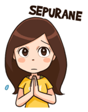 Lola Medok Suroboyoan 2 sticker #7851445