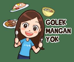 Lola Medok Suroboyoan 2 sticker #7851446