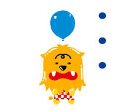 Tinny Balloon sticker #7852267