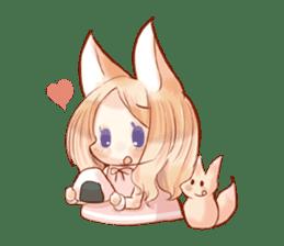 little fox daily sticker #7862332