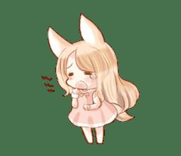 little fox daily sticker #7862334