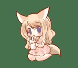 little fox daily sticker #7862339