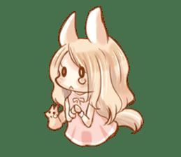 little fox daily sticker #7862341