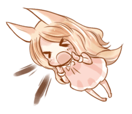 little fox daily sticker #7862342