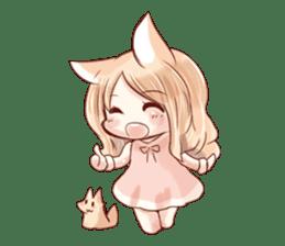 little fox daily sticker #7862344