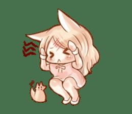 little fox daily sticker #7862345