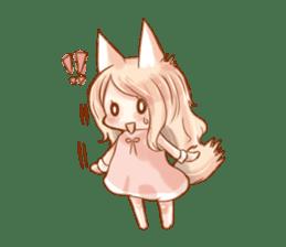 little fox daily sticker #7862346