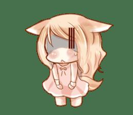 little fox daily sticker #7862347