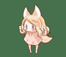 little fox daily sticker #7862348