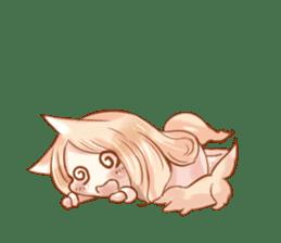 little fox daily sticker #7862350